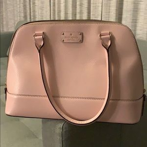 Soft pink Kate Spade tote